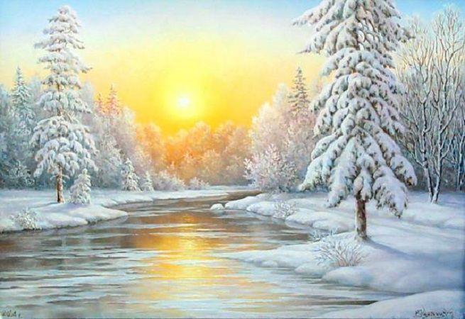 мастер-класс по живописи, учусь рисовать, картина в подарок