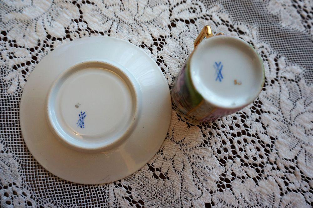 старинный, фарфоровая посуда, качество, позолота