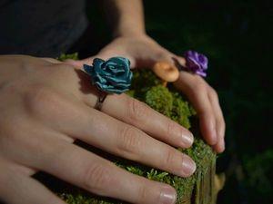 Создаем кольцо «Роза» в технике канзаши: видеоурок. Ярмарка Мастеров - ручная работа, handmade.
