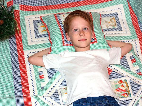 Спонтанная реклама Морского лоскутного одеяла | Ярмарка Мастеров - ручная работа, handmade