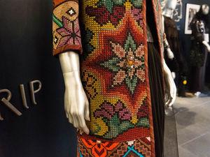 Одежда с вышивкой от Виктории Гресь — выставка «Timeless Gres». Часть 2. Ярмарка Мастеров - ручная работа, handmade.