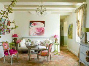 розовый цвет сочетается с оливковым 3