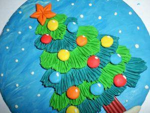 Творим с детьми: лепим ёлочку из пластилина. Ярмарка Мастеров - ручная работа, handmade.