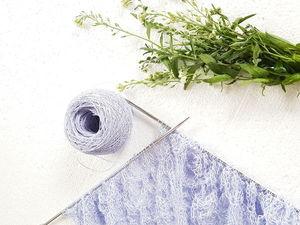 Новый цвет — шаль для Натальи. Ярмарка Мастеров - ручная работа, handmade.