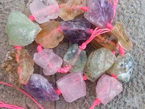 Аукцион на бусины,подвески, срезы из натуральных камней!. Ярмарка Мастеров - ручная работа, handmade.
