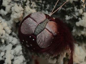 Christmas Balls from Scraps. Livemaster - handmade