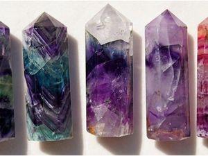 Флюорит — удивительный по красоте и по разнообразию окраски камень.. Ярмарка Мастеров - ручная работа, handmade.