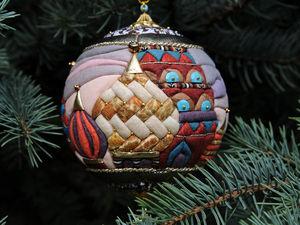 Новогодняя скидка на елочные  шары и вязаные украшения | Ярмарка Мастеров - ручная работа, handmade