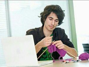 Мужское вязание. Ярмарка Мастеров - ручная работа, handmade.