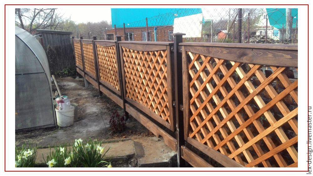 Устанавливаем забор