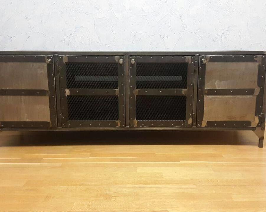 мебель из металла, письменный стол лофт