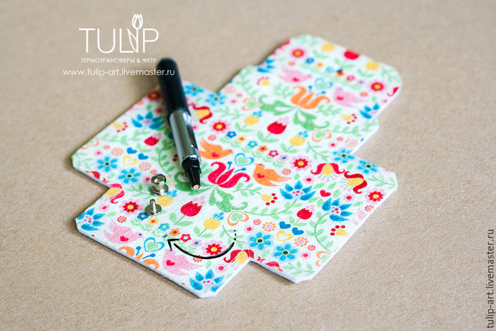 手工制作教程:可爱的迷你零钱包 - maomao - 我随心动