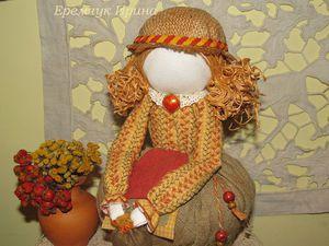 Создаём куклу-саше с вышивкой. Ярмарка Мастеров - ручная работа, handmade.