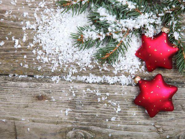 Как сделать искусственный снег в домашних условиях   Ярмарка Мастеров - ручная работа, handmade