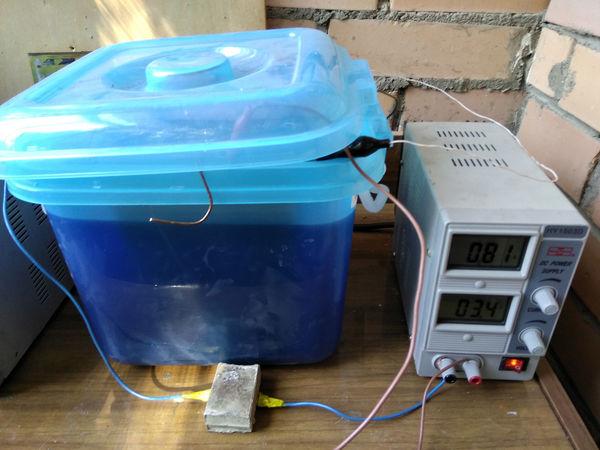 Гальванопластика. Готовим электролит и запускаем процесс. | Ярмарка Мастеров - ручная работа, handmade