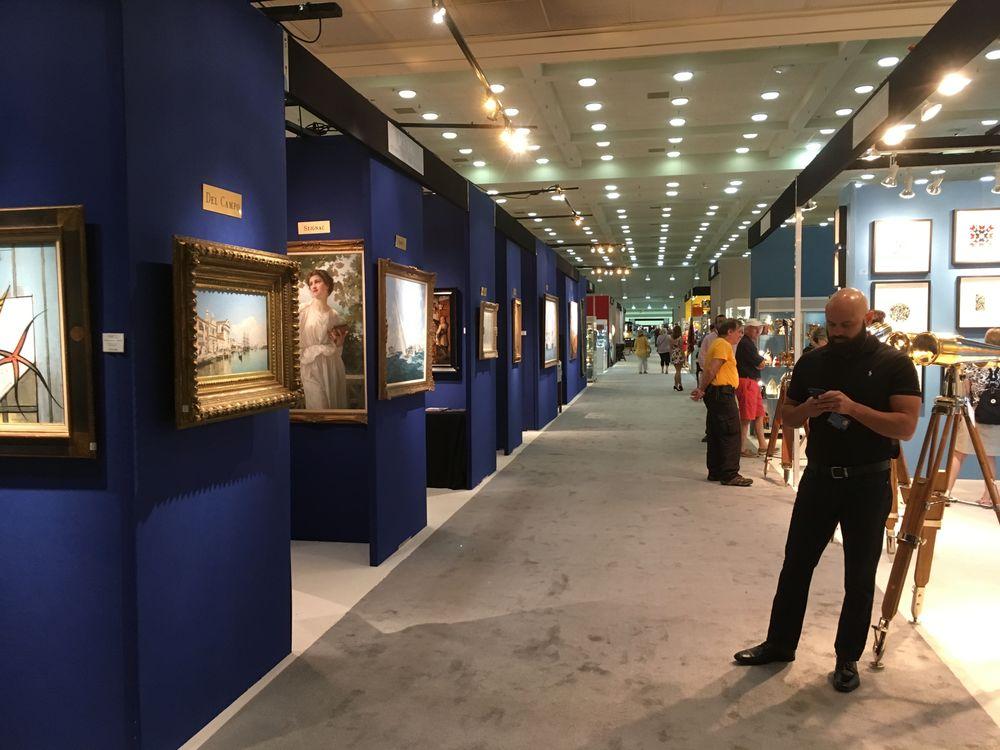 Выставка антиквариата в Балитморе