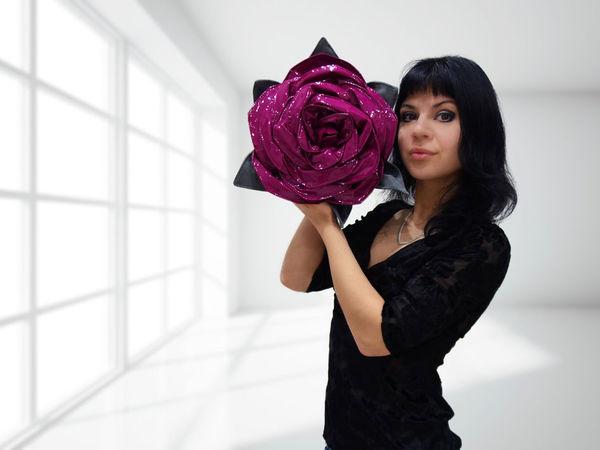 Розыгрыш сумки-розы среди подписчиков цветника Татьяны Фот!!! | Ярмарка Мастеров - ручная работа, handmade