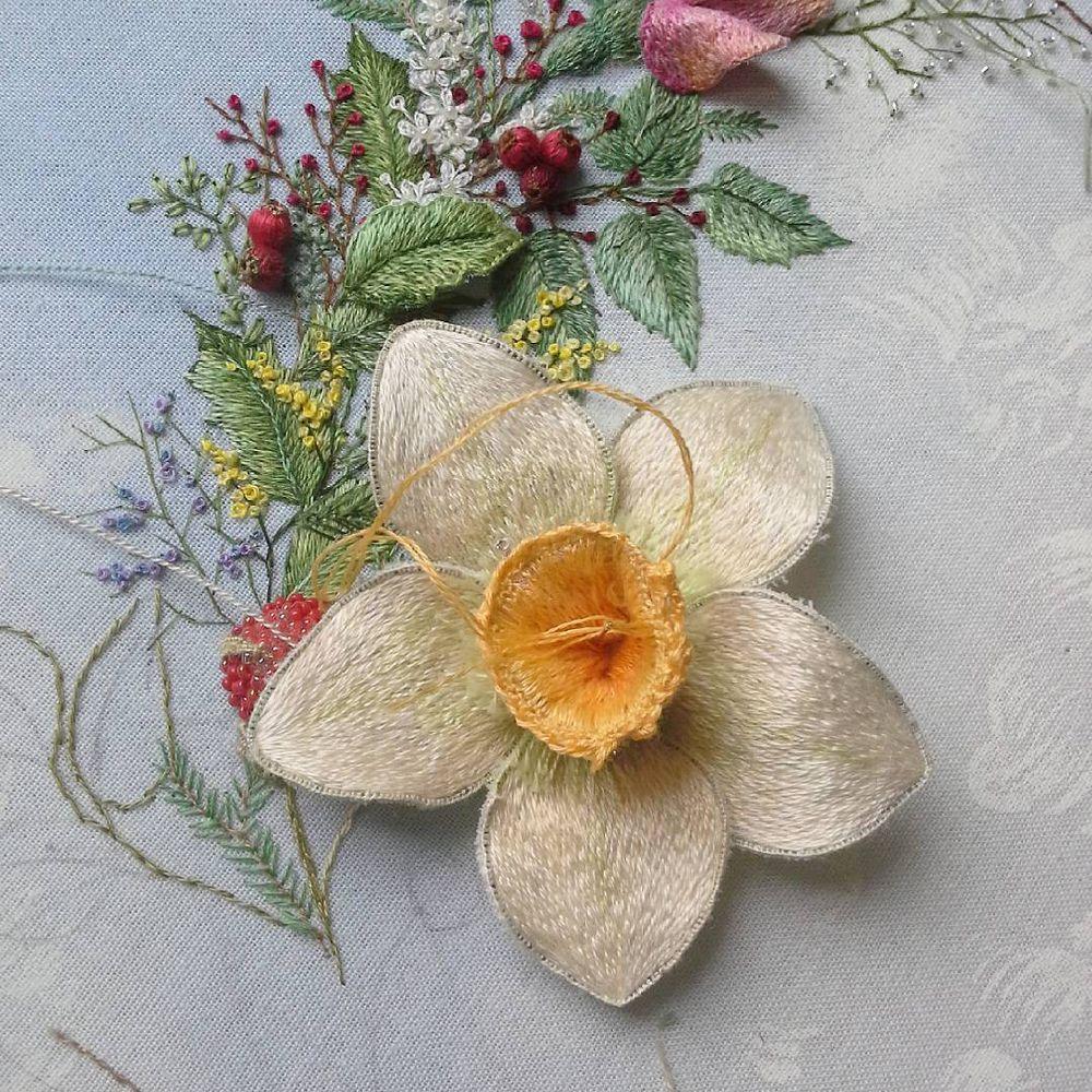 цветы картина на