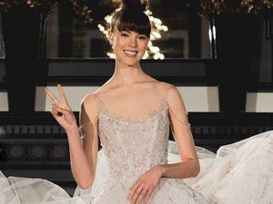 В Нью-Йорке прошла Неделя свадебной моды 2018. Ярмарка Мастеров - ручная работа, handmade.