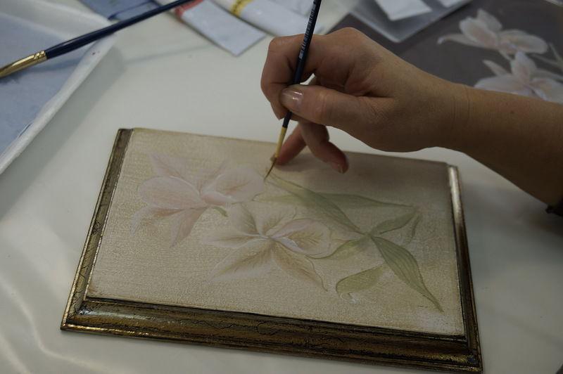 курс росписи мебели