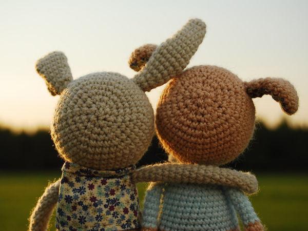 Собачкин и Кроликов   Ярмарка Мастеров - ручная работа, handmade