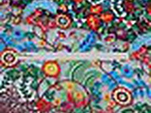 Акция! -23% Шикарная вышивка на сетке Дезире | Ярмарка Мастеров - ручная работа, handmade