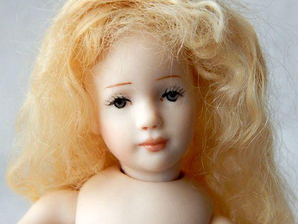 Винтажная куколка 14 см.   Ярмарка Мастеров - ручная работа, handmade