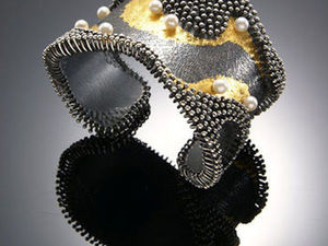 Природные формы в серебре и золоте от So Young Park's. Ярмарка Мастеров - ручная работа, handmade.