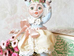 "Авторская кукла Teddi Doll ""Оленяшечка. Ярмарка Мастеров - ручная работа, handmade."