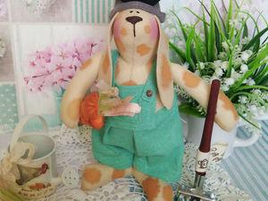 кролик Абрикос в Подарок !!!. Ярмарка Мастеров - ручная работа, handmade.