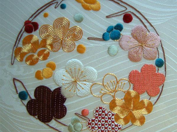 Японская вышивка в Великобритании от Harriet George   Ярмарка Мастеров - ручная работа, handmade