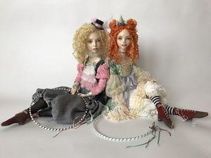 Девчонки с обручами. Ярмарка Мастеров - ручная работа, handmade.