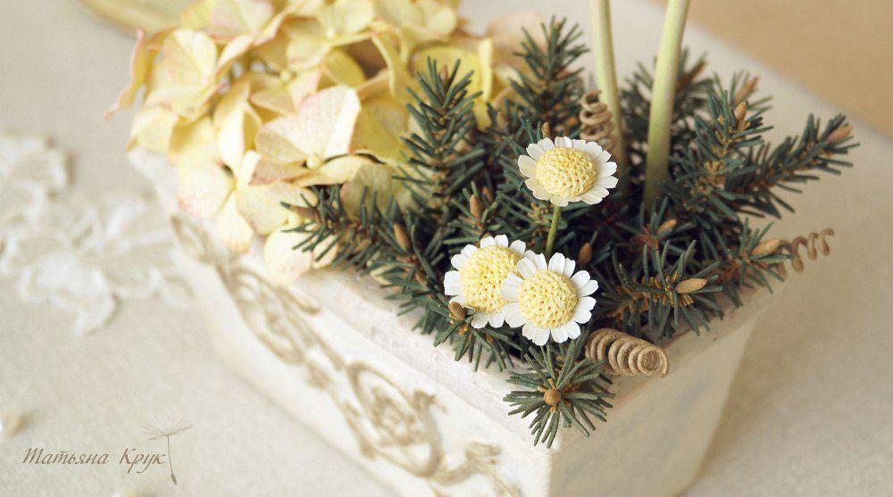 композиция с цветами, цветы из фоамирана
