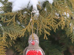 Сказочный снегирь!. Ярмарка Мастеров - ручная работа, handmade.