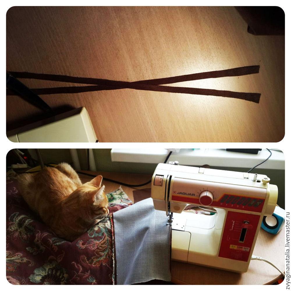 сделать чехол самим, обновляем мебель