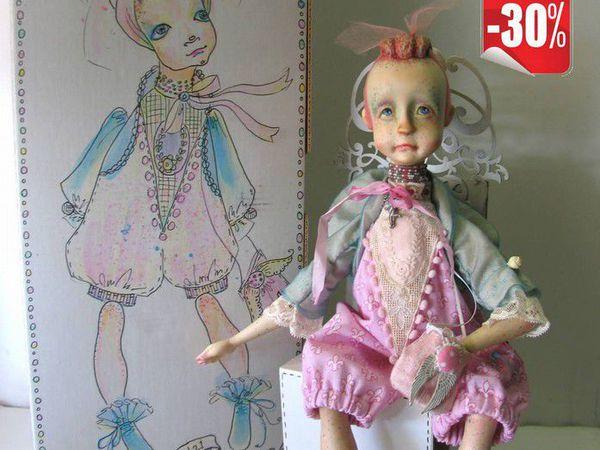 Инси, кукла из дерева.   Ярмарка Мастеров - ручная работа, handmade