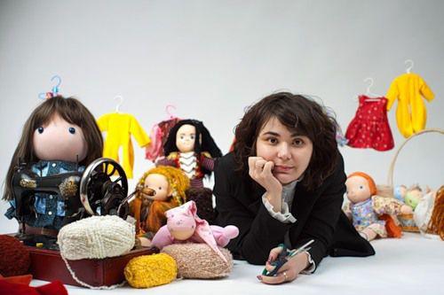 журнал, куклы