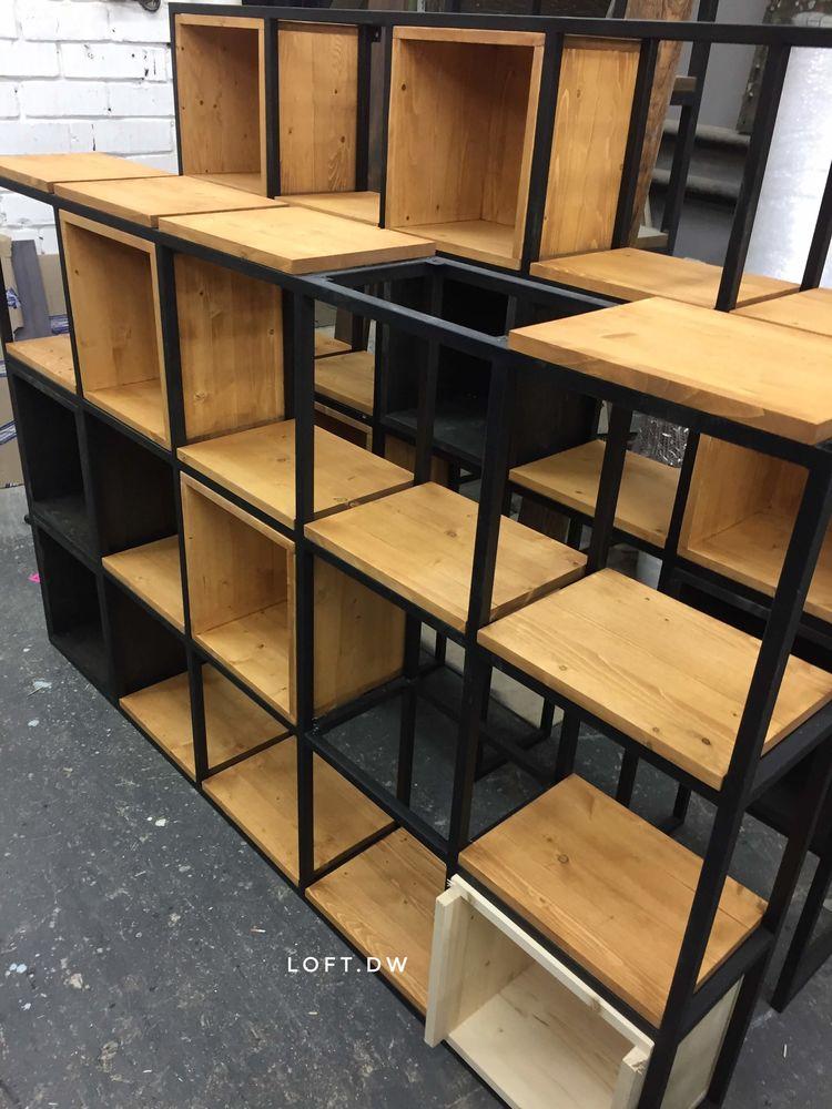лофт, мебель в стиле лофт, стеллаж, стеллаж лофт, стеллаж лофт заказать, стеллаж соты, шкаф в стиле лофт, этажерки в стиле лофт, мебель лофт купить, стеллаж заказать