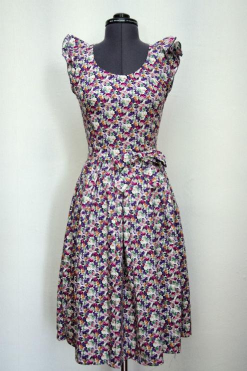 платье, летнее платье, индивидуальный пошив