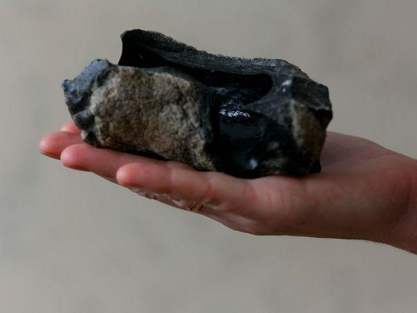 Редкий минерал фульгурит - Голландский аукцион! | Ярмарка Мастеров - ручная работа, handmade