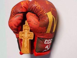 Боксерские сувенирные перчатки! Примеры работ.. Ярмарка Мастеров - ручная работа, handmade.