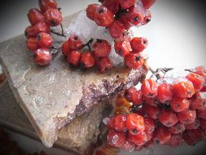 Рябина на Коньяке, натуральное мыло с нуля Снова в Продаже!!!. Ярмарка Мастеров - ручная работа, handmade.