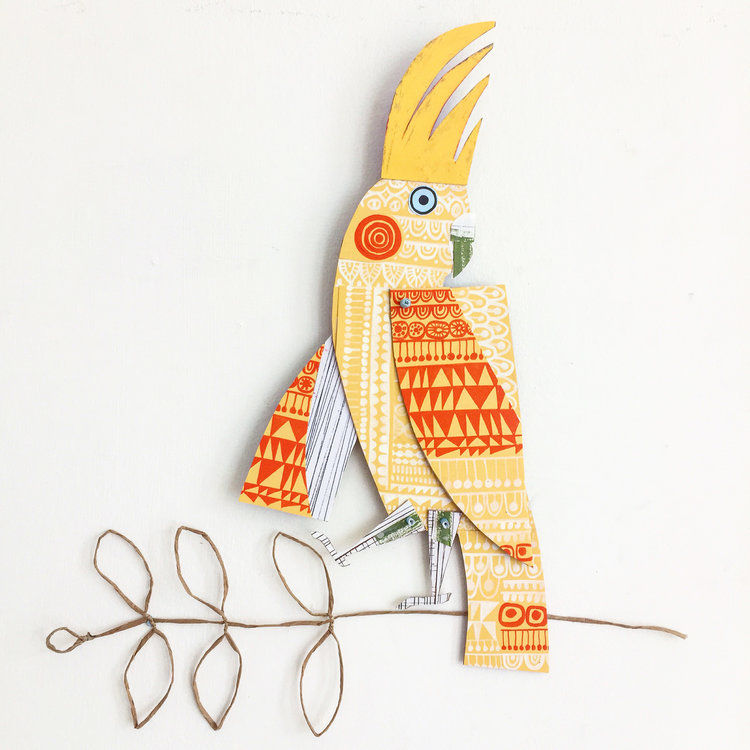 Cheerful Animals of Paper and Fabric by the Designer Clare Youngs, фото № 16