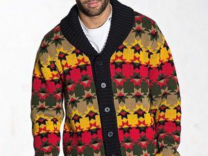 Вязаные свитера: поразительные потрясающие образы настоящих мужчин — от делового бизнесмена до мачо. Ярмарка Мастеров - ручная работа, handmade.