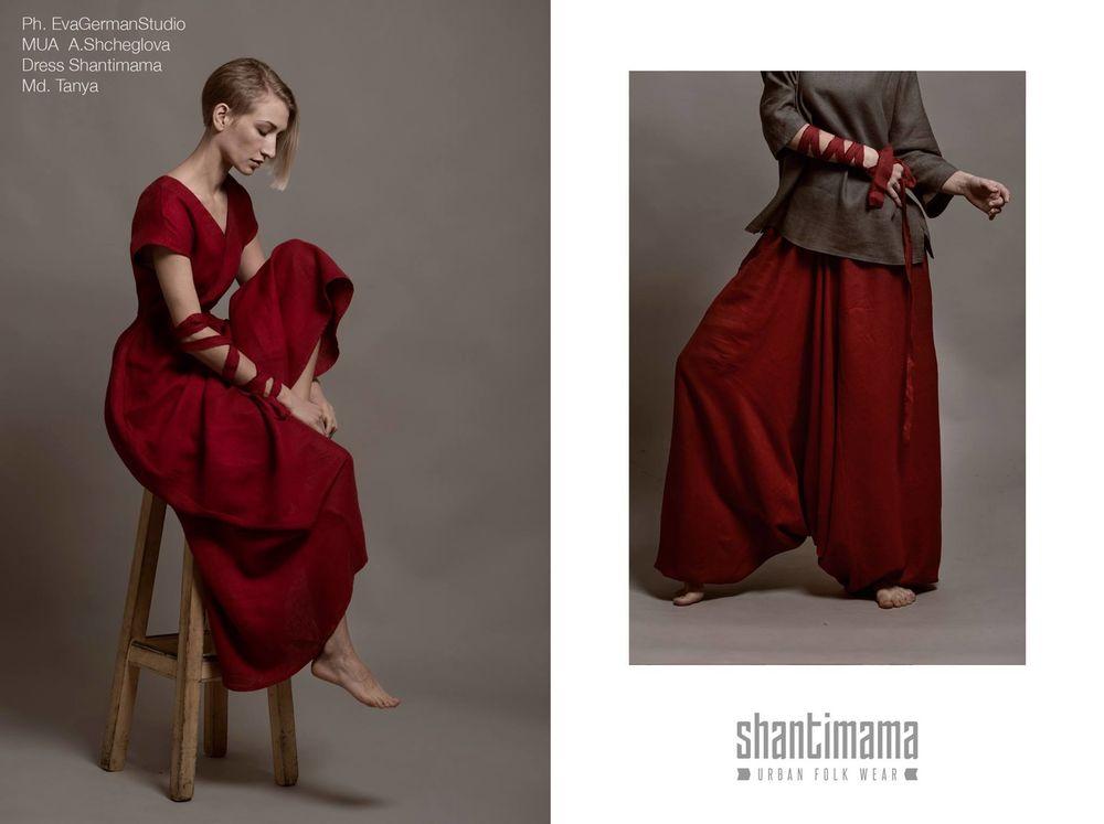 шантимама, платье красное в пол