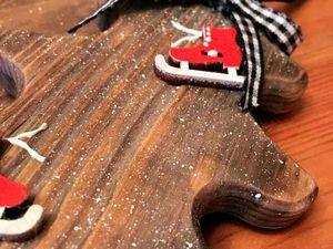 Делаем подвеску «Рождественская елочка» из массива сосны. Ярмарка Мастеров - ручная работа, handmade.
