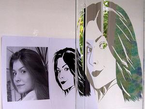 зеркало портрет по фотографии. Ярмарка Мастеров - ручная работа, handmade.