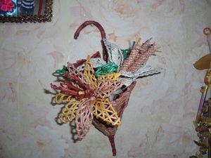 Видео мастер-класс по плетению вазы «Зонтик». Ярмарка Мастеров - ручная работа, handmade.