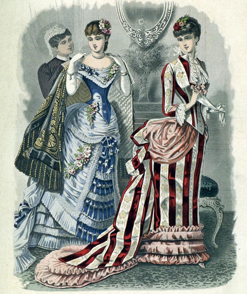 Восхитительная мода конца ХIХ века, фото № 11