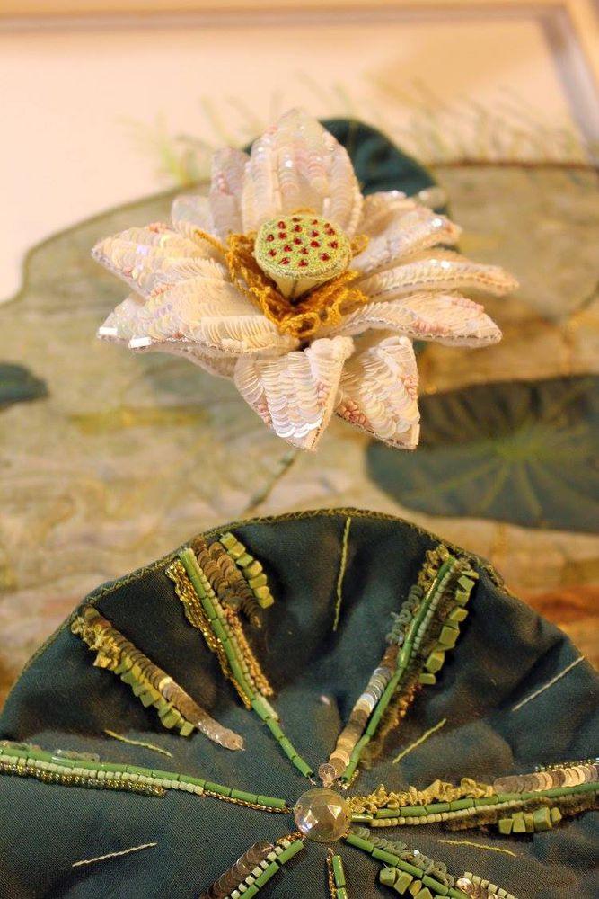 Вышивка очечников бисером